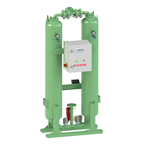 External Heat Regeneration Compressed Air Dryer